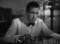 Of all the gin joints in all of the towns in all the world, she walks into mine...